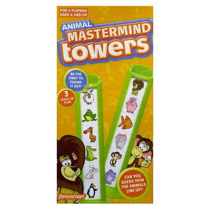 ANIMAL MASTERMIND TOWERS