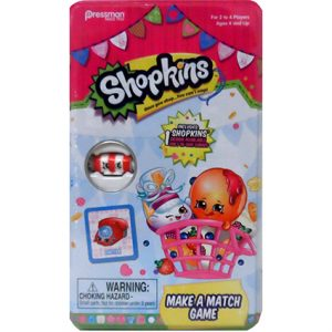 SHOPKINS MAKE-A-MATCH GAME