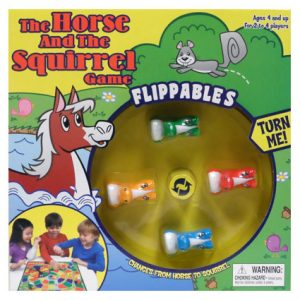 HORSE & SQUIRREL FLIPPABLES