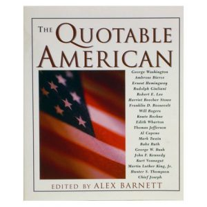 QUOTABLE AMERICAN BOOK