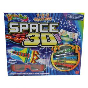 RAINBOW BRUSH - SPACE 3D