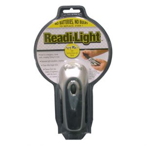 READI-LIGHT CRANK FLASHLIGHT