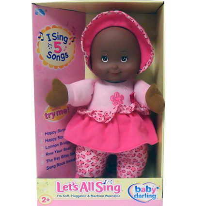 "13"" LET'S ALL SING DOLL-AA"