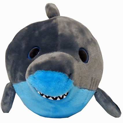 "9"" SHARK BUBBLE ZOO PLUSH"