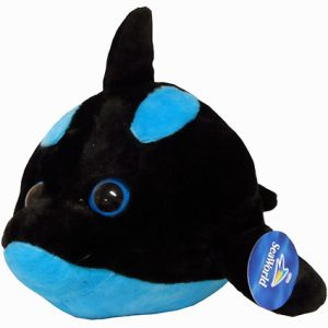 "9"" ORCA BUBBLE ZOO PLUSH"