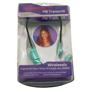 FM TRANSMITTER HEADSET MIC