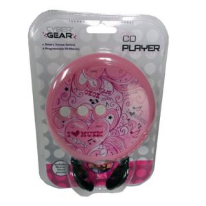 CYBER GEAR PINK CD PLAYER