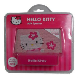 HELLO KITTY AUX SPEAKER