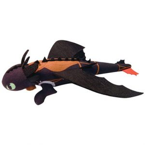 DRAGONS SOARING TOOTHLESS