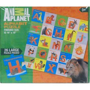 ANIMAL PLANET ALPHABET PUZZLE