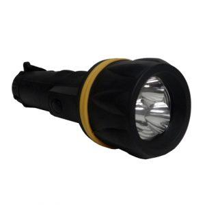 LED BLACK AND YELLOW FLASHLIGHT