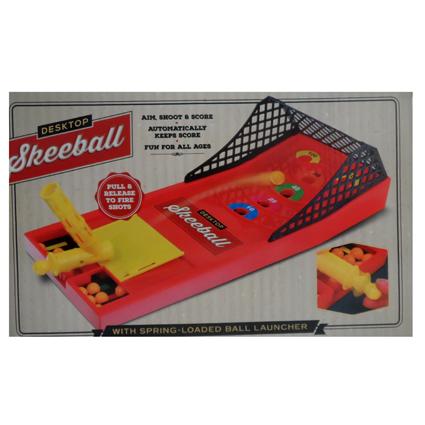DESKTOP SKEEBALL GAME