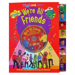 WIGGLE AND LEARN CD BOOK