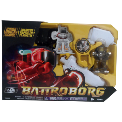 BATTLE BORG ROBOT- GOLD