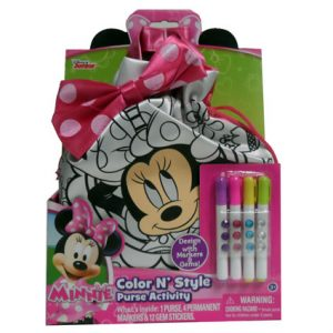 MINNIE MOUSE COLOR N STYLE PURSE