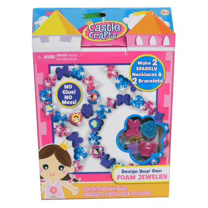 CASTLE CRAFTS FOAM JEWELRY