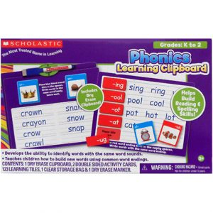 SCHOLASTIC LEARNING CLIPBOARD