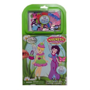 DISNEY FAIRIES - MAGNETIC DRESS UP
