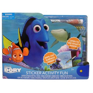 FINDING DORY LG STICKER ACTIVITY