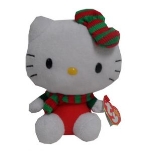 BEANIE BABY- HELLO KITTY CHRISTMAS- SCARF