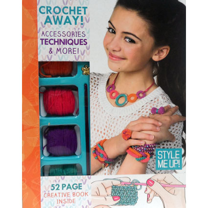CROCHET AWAY! KIT AND BOOK